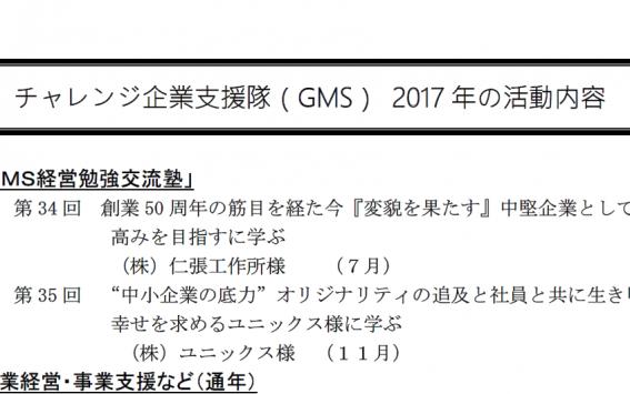 2017 activities